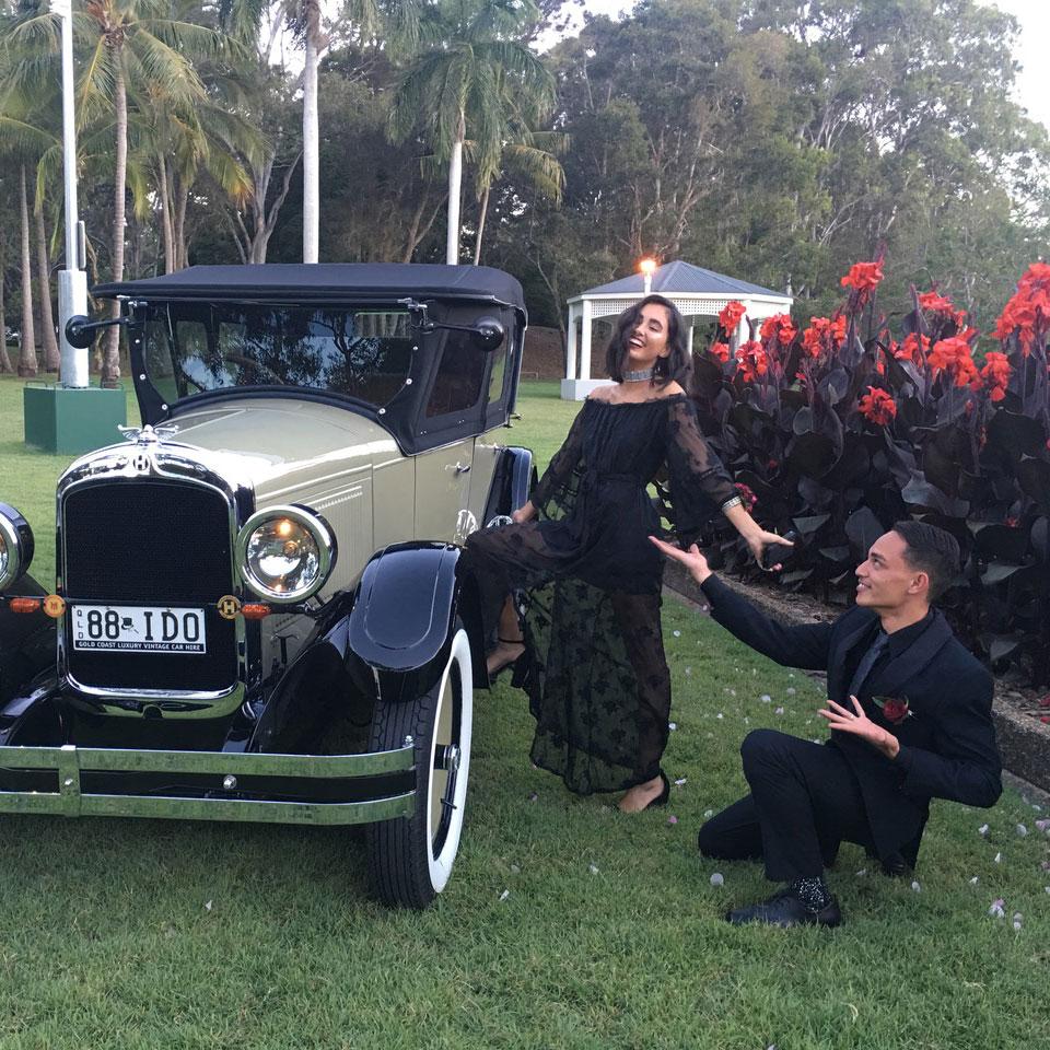 Vintage Formal Car Hire Gold Coast